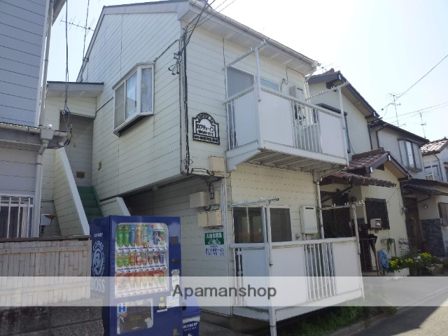 神奈川県相模原市中央区、上溝駅徒歩14分の築27年 2階建の賃貸アパート