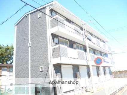 神奈川県相模原市中央区、相模原駅徒歩10分の築5年 3階建の賃貸アパート
