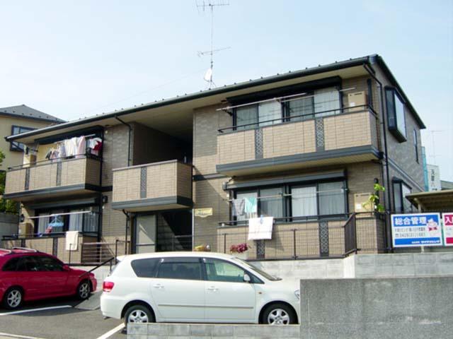 東京都八王子市、八王子みなみ野駅徒歩12分の築16年 2階建の賃貸アパート