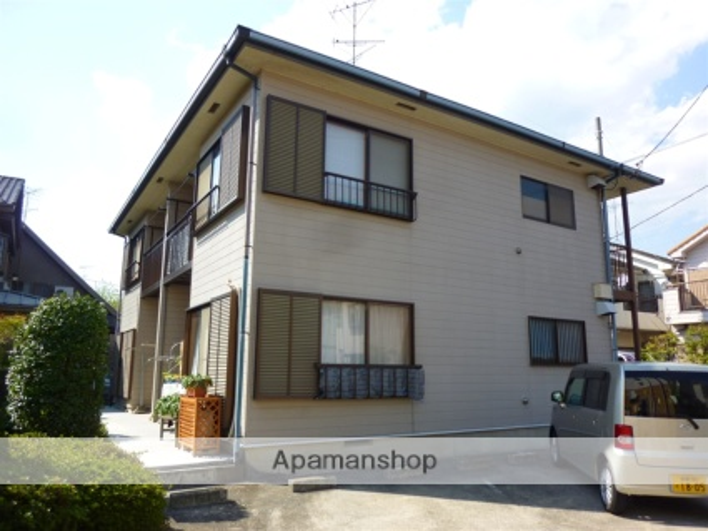 神奈川県相模原市中央区、相模原駅徒歩25分の築21年 2階建の賃貸アパート