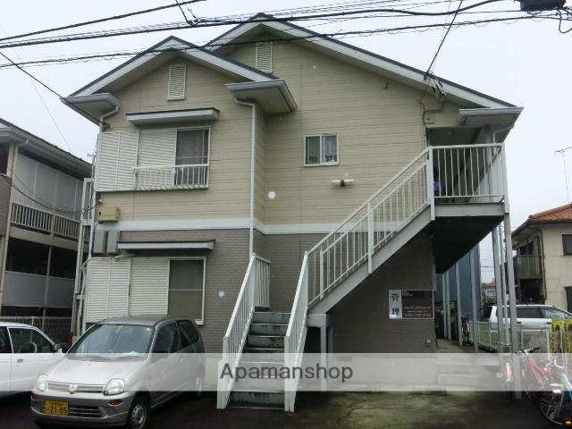 神奈川県相模原市中央区、相模原駅徒歩17分の築25年 2階建の賃貸アパート