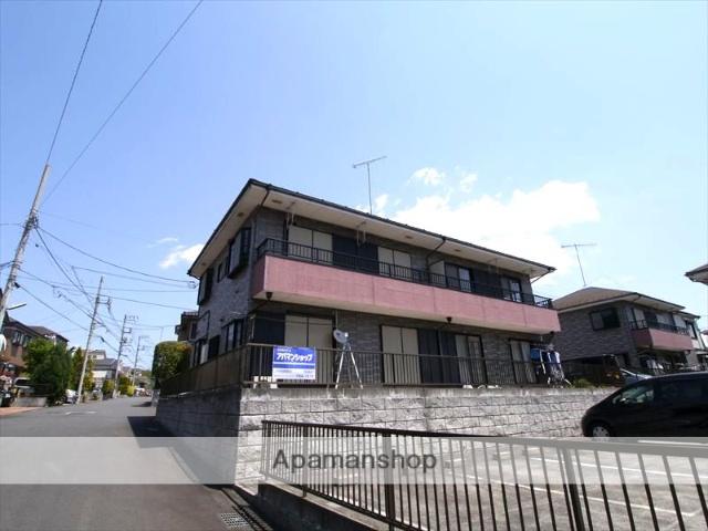 神奈川県相模原市中央区、橋本駅バス24分望地キャンプ場下車後徒歩19分の築19年 2階建の賃貸アパート