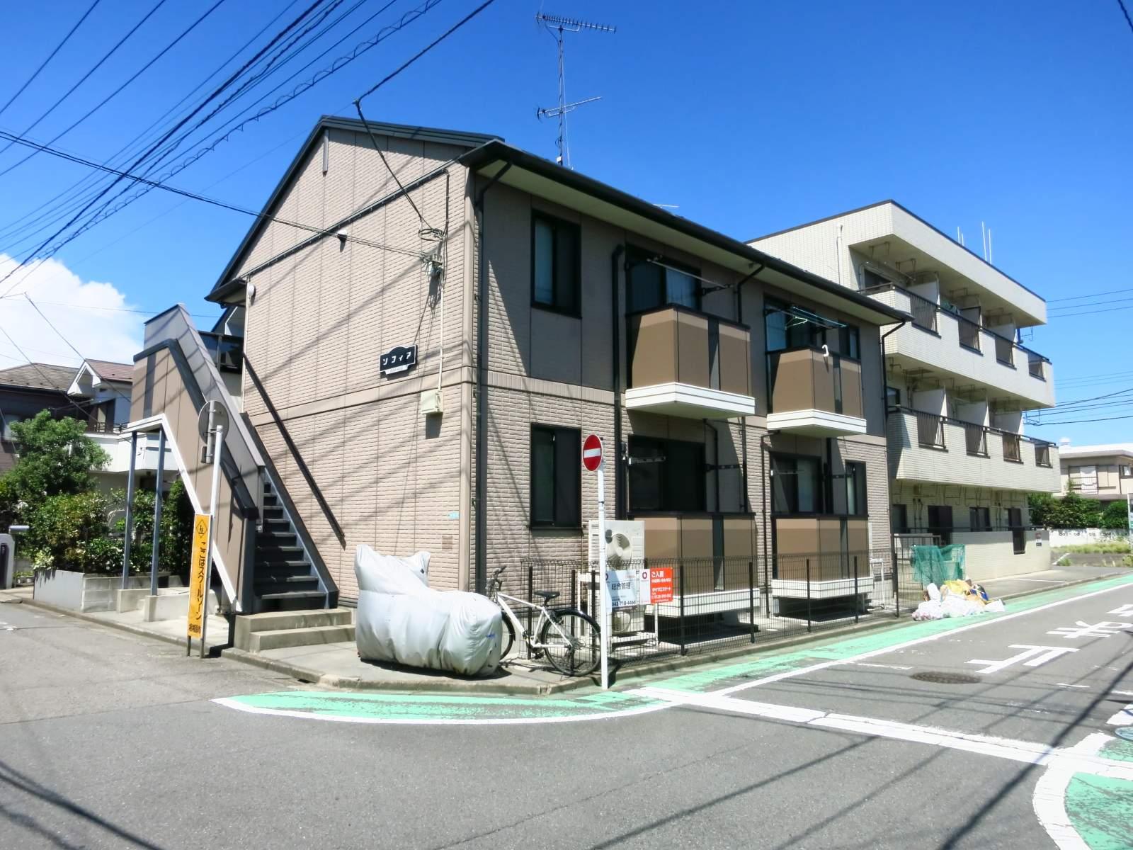神奈川県相模原市中央区、相模原駅徒歩10分の築16年 2階建の賃貸アパート