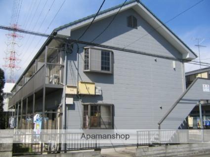 神奈川県相模原市中央区、矢部駅徒歩30分の築23年 2階建の賃貸アパート