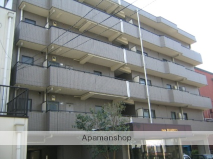 神奈川県相模原市中央区、相模原駅徒歩15分の築25年 5階建の賃貸マンション