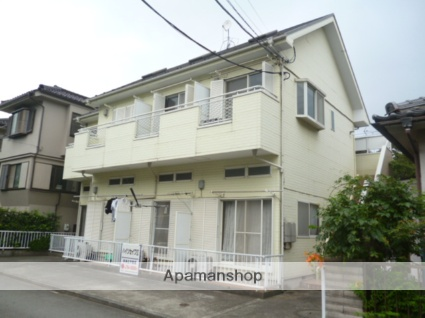 神奈川県相模原市中央区、相模原駅徒歩13分の築26年 2階建の賃貸アパート
