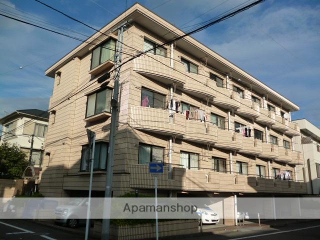 神奈川県相模原市中央区、相模原駅徒歩6分の築28年 4階建の賃貸マンション