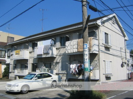 神奈川県相模原市中央区、相模原駅徒歩16分の築29年 2階建の賃貸アパート