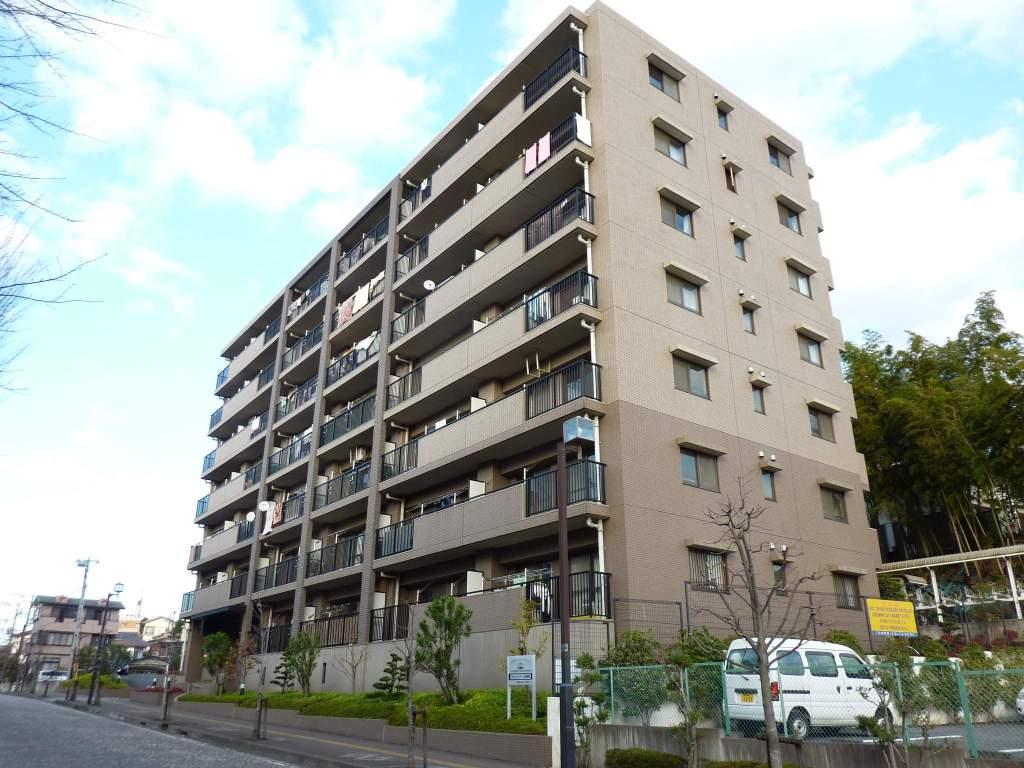 神奈川県相模原市中央区、相模原駅徒歩38分の築17年 7階建の賃貸マンション