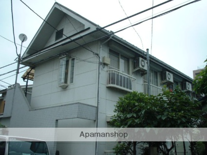 神奈川県相模原市中央区、矢部駅徒歩25分の築28年 2階建の賃貸アパート
