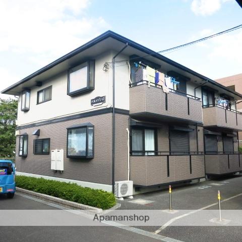 神奈川県相模原市緑区、橋本駅徒歩9分の築18年 2階建の賃貸アパート