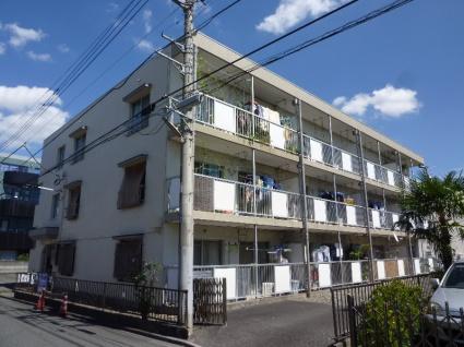 神奈川県相模原市中央区、矢部駅徒歩20分の築30年 3階建の賃貸マンション