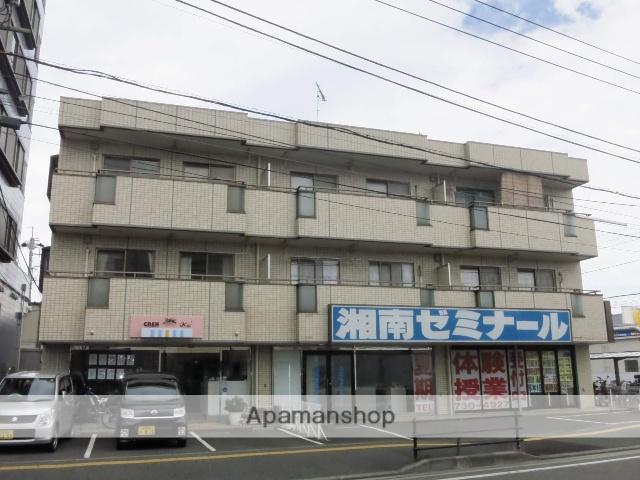 神奈川県相模原市中央区、淵野辺駅バス10分星が丘下車後徒歩2分の築30年 3階建の賃貸マンション