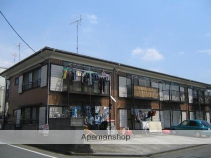神奈川県相模原市中央区、淵野辺駅バス15分光が丘3丁目下車後徒歩1分の築35年 2階建の賃貸アパート
