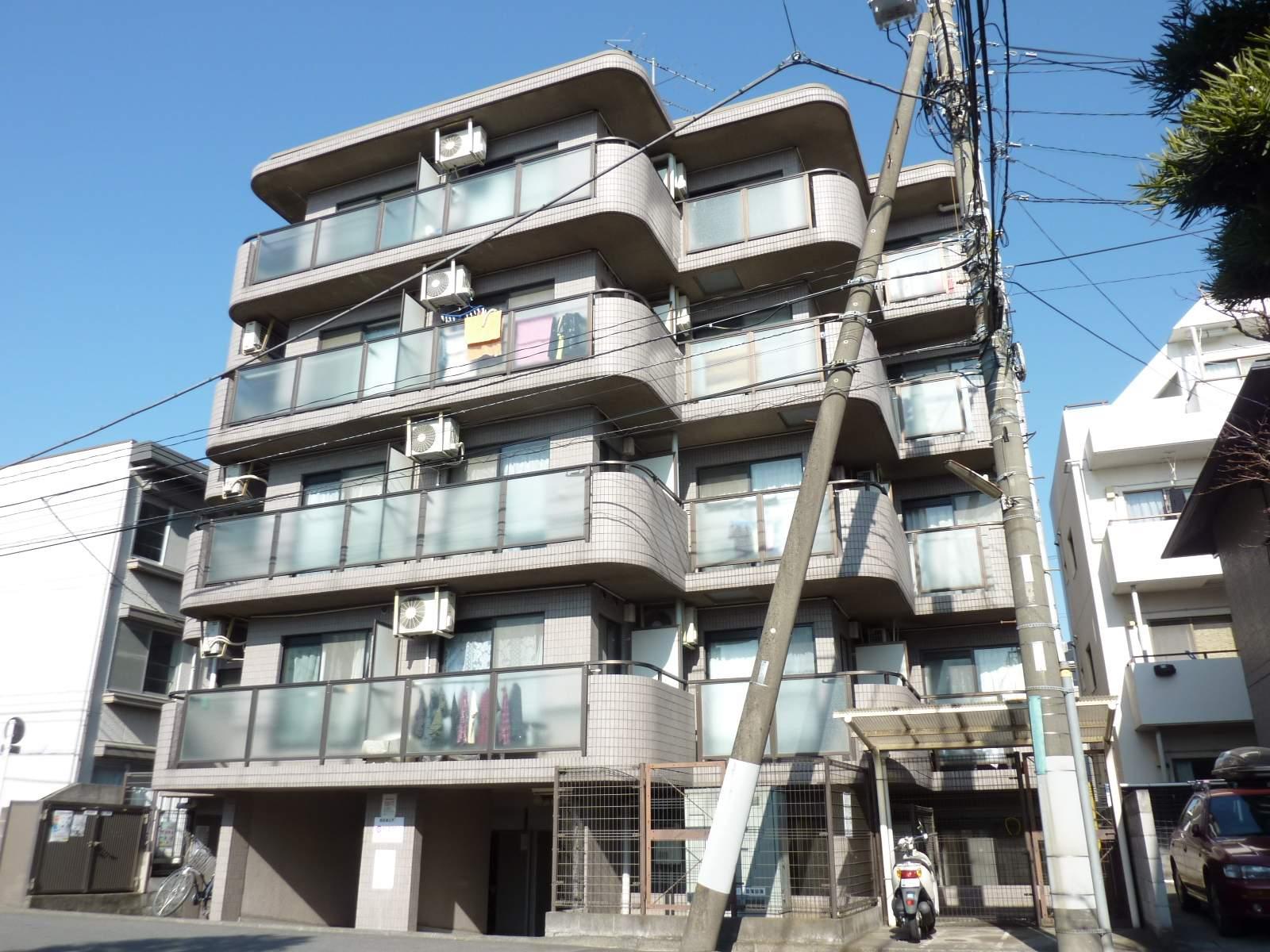 神奈川県相模原市中央区、相模原駅徒歩9分の築23年 5階建の賃貸マンション