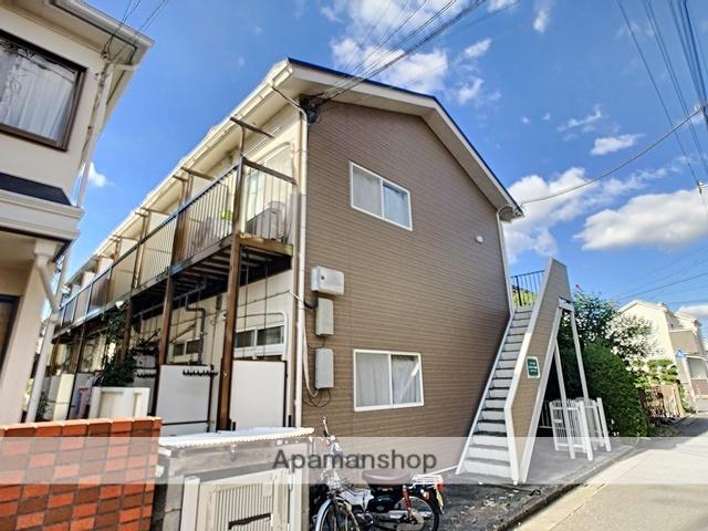 神奈川県相模原市南区、相模大野駅徒歩17分の築30年 2階建の賃貸アパート