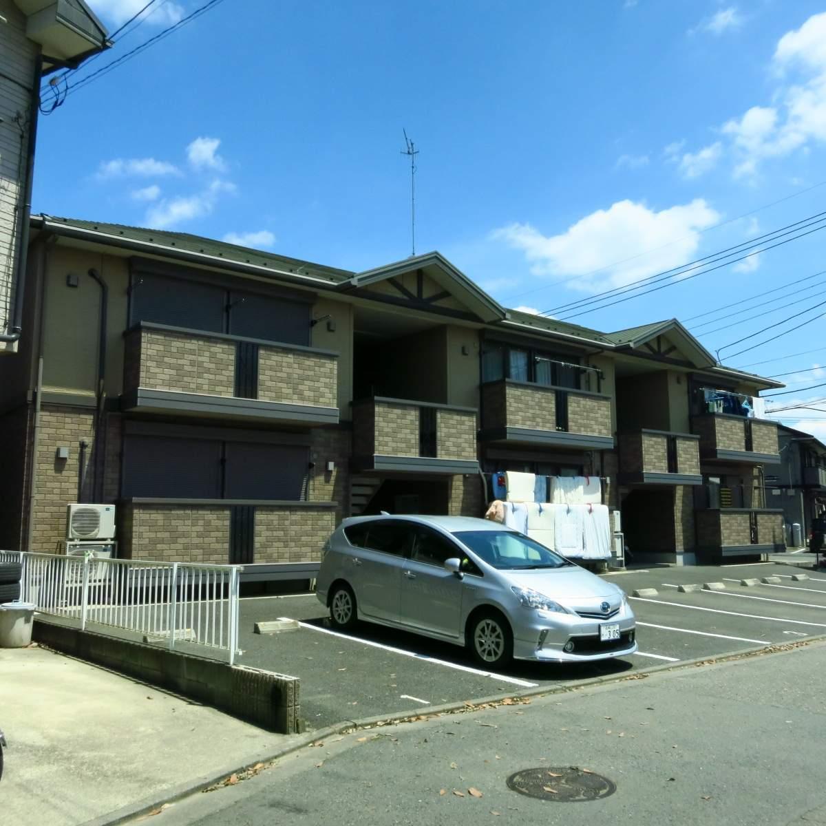 神奈川県座間市、南林間駅バス6分ひばりヶ丘5丁目下車後徒歩3分の築10年 2階建の賃貸アパート