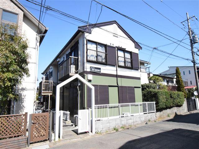 神奈川県大和市、南林間駅徒歩6分の築29年 2階建の賃貸アパート