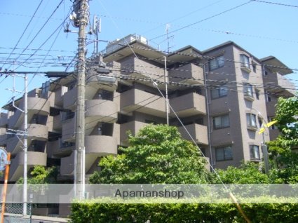神奈川県相模原市南区、相模大野駅徒歩18分の築26年 5階建の賃貸マンション