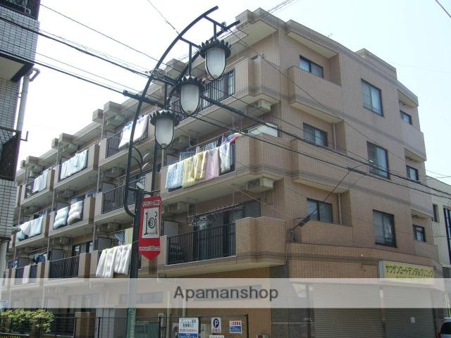 神奈川県相模原市南区、小田急相模原駅徒歩8分の築23年 4階建の賃貸マンション