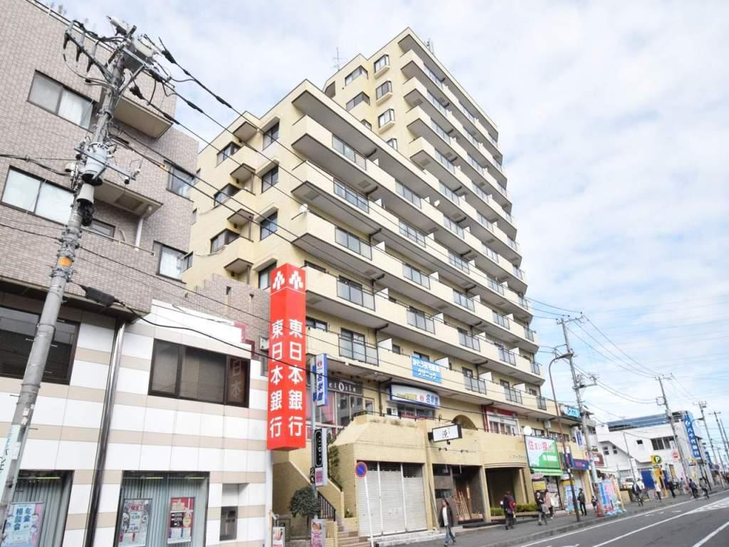 神奈川県相模原市南区、町田駅徒歩42分の築24年 12階建の賃貸マンション