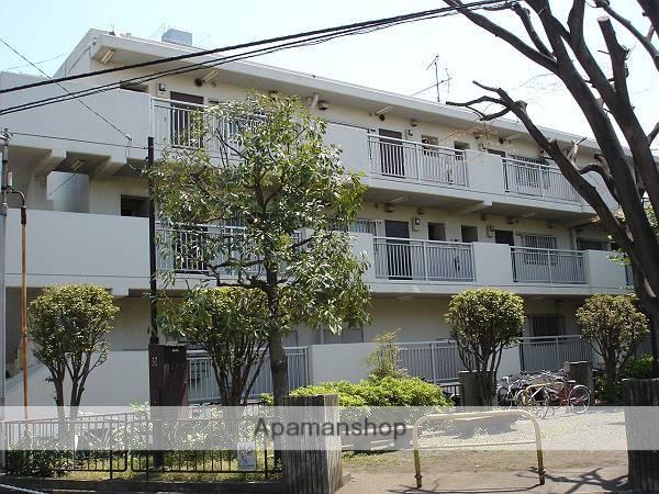 神奈川県相模原市南区、相模大野駅徒歩17分の築34年 3階建の賃貸マンション