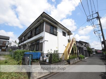 神奈川県相模原市南区、東林間駅徒歩8分の築27年 2階建の賃貸アパート