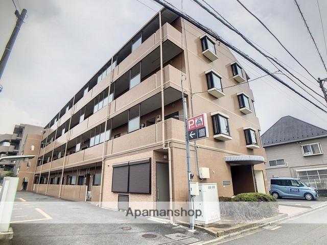 神奈川県相模原市南区、相模大野駅徒歩12分の築23年 4階建の賃貸マンション