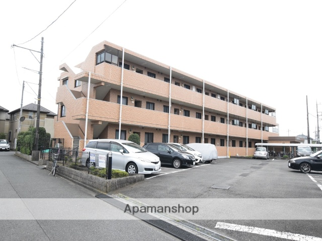 神奈川県相模原市南区、東林間駅徒歩10分の築21年 3階建の賃貸マンション