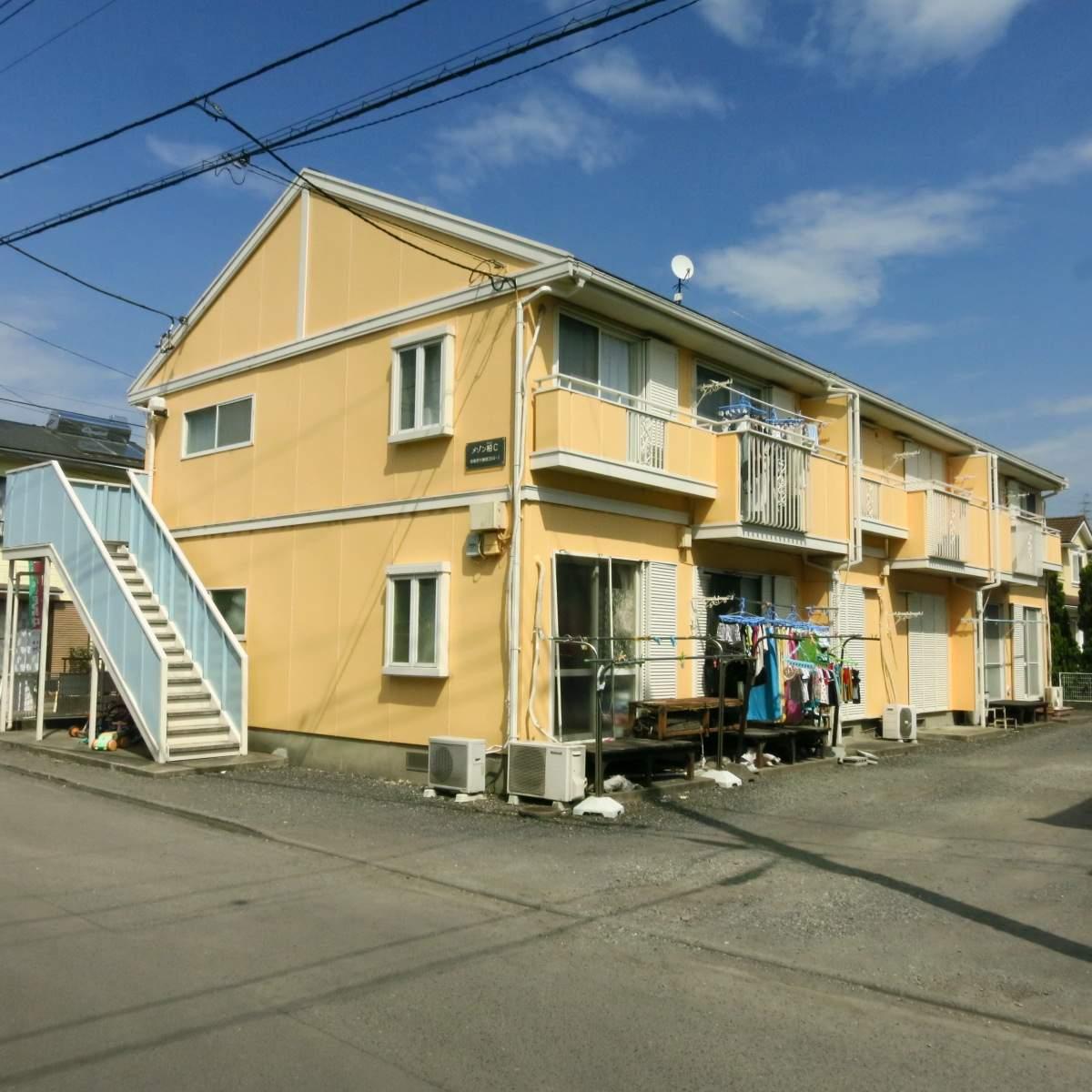 神奈川県相模原市南区、相武台下駅徒歩27分の築24年 2階建の賃貸アパート