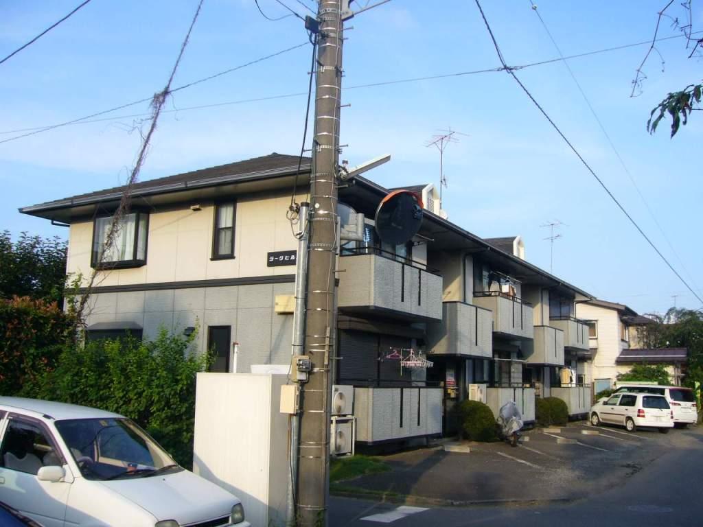 神奈川県座間市、南林間駅徒歩19分の築22年 2階建の賃貸アパート