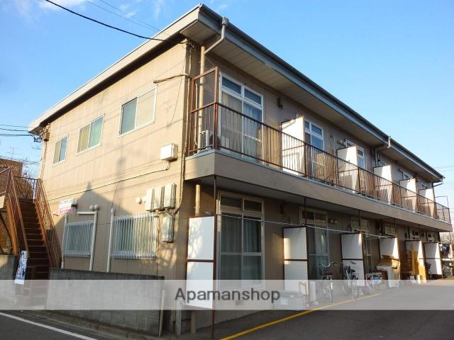 神奈川県相模原市南区、相模大野駅徒歩5分の築33年 2階建の賃貸アパート