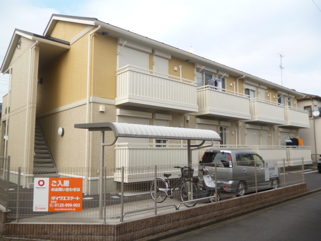 神奈川県相模原市南区、相模大野駅徒歩25分の築8年 2階建の賃貸アパート