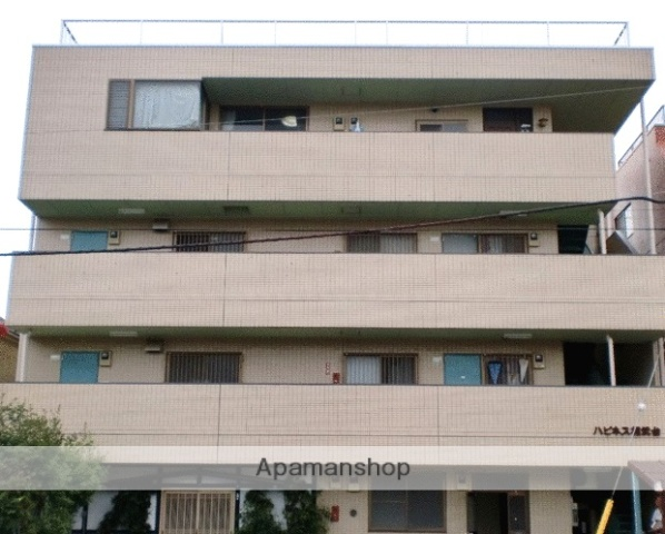神奈川県相模原市南区、相武台前駅徒歩4分の築29年 4階建の賃貸マンション