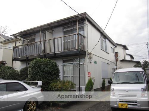神奈川県相模原市南区、相模大野駅徒歩20分の築40年 2階建の賃貸アパート