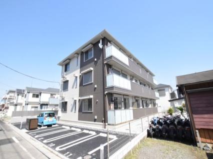 神奈川県相模原市中央区、相模原駅徒歩22分の新築 3階建の賃貸アパート