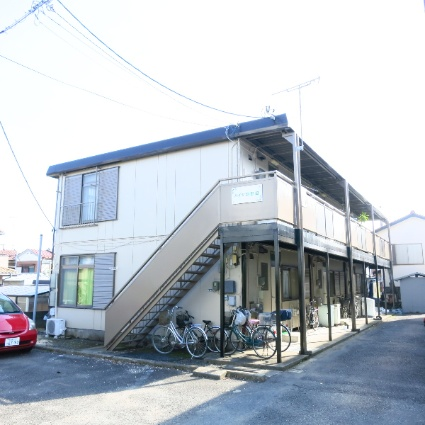 神奈川県相模原市中央区、淵野辺駅バス15分上溝団地下車後徒歩2分の築36年 2階建の賃貸アパート