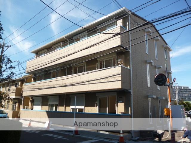 神奈川県座間市、南林間駅バス10分小松原2丁目下車後徒歩3分の築4年 3階建の賃貸アパート