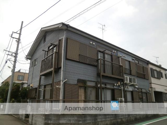 神奈川県相模原市南区、中央林間駅徒歩10分の築21年 2階建の賃貸アパート