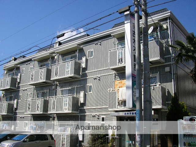 神奈川県大和市、南林間駅徒歩14分の築28年 3階建の賃貸マンション