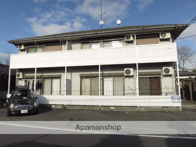 神奈川県相模原市南区、町田駅徒歩16分の築23年 2階建の賃貸アパート