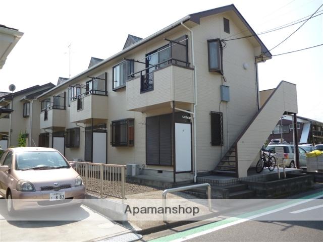 神奈川県相模原市南区、相模大野駅徒歩18分の築25年 2階建の賃貸アパート