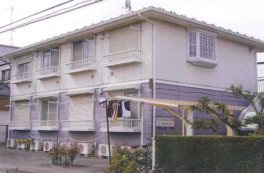 神奈川県相模原市南区、相模大野駅徒歩20分の築24年 2階建の賃貸アパート