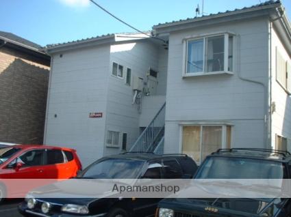 神奈川県相模原市南区、町田駅徒歩26分の築27年 2階建の賃貸アパート