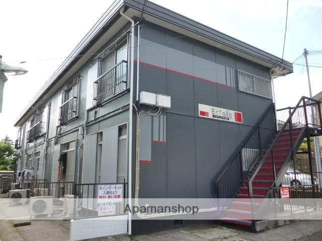 神奈川県相模原市南区、古淵駅バス10分北里大学下車後徒歩3分の築41年 2階建の賃貸アパート