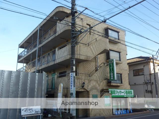 神奈川県相模原市南区、相模大野駅徒歩29分の築29年 4階建の賃貸マンション