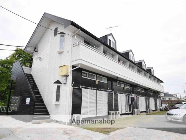 神奈川県相模原市中央区、古淵駅徒歩25分の築26年 2階建の賃貸アパート