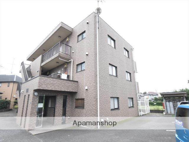 東京都町田市、古淵駅徒歩30分の築19年 3階建の賃貸マンション