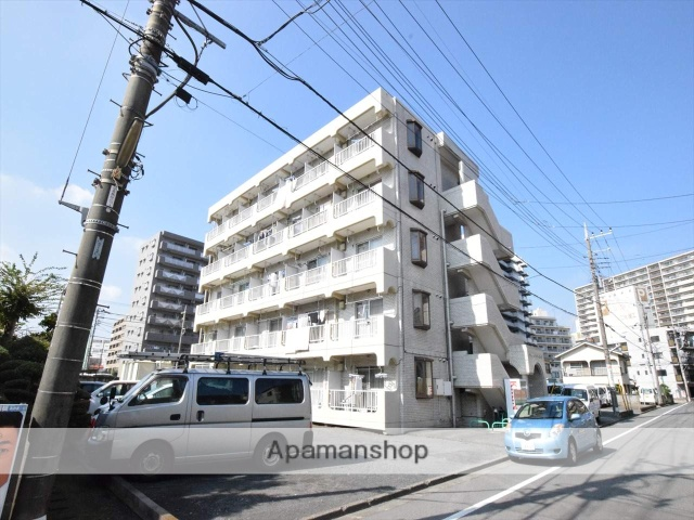 神奈川県相模原市中央区、矢部駅徒歩21分の築31年 5階建の賃貸マンション