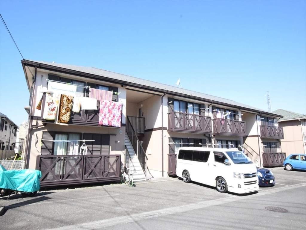 神奈川県相模原市中央区、相模原駅徒歩23分の築23年 2階建の賃貸アパート